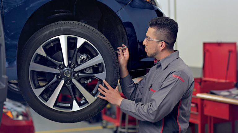 Burlington Nissan Express Service - Tire Service