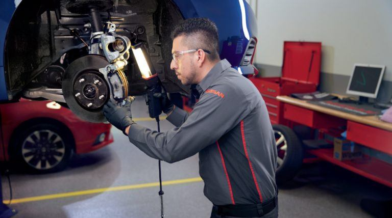 Burlington Nissan Express Service - Brake Service