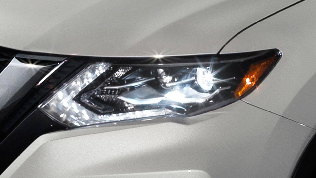 nissan rogue led headlights