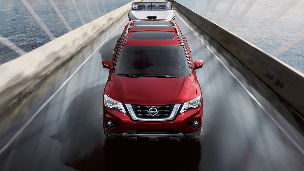 nissan-pathfinder-top-view-red-2